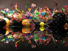 Dale Chihuly. Glass art.
