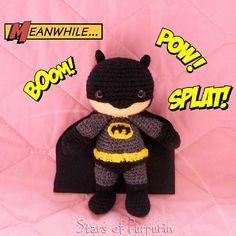 Batman is now in our store waiting for a home! (link in the profile)  Batman esta ahora en nuestra tienda esperando por un hogar! (link en el perfil)  #etsy #starsofpurpurin #batman #amigurumi #batmanamigurumi #darkknight #batmanarkhamknight #superhero #superheroe #dc #dccomics #batmanvsuperman #joker #harleyquinn #wonderwoman #gotham #handmade #hechoamano by starsofpurpurin