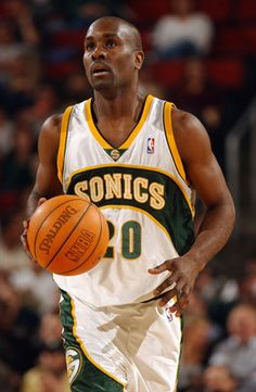 Gary Payton - played 17 seasons mostly for the Seattle Sonics. 1 time 3 point leader, 9 time all star, 1 time defensive player.