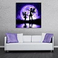 e-Home® uitgerekt geleid canvas kunst de maan elfen flash effect geleid - EUR € Canvas Frame, Canvas Wall Art, Wall Art Prints, Poster Prints, Light Up Canvas, Handmade Wall Clocks, Butterfly Fairy, Wall Art For Sale, Panel Wall Art
