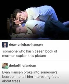 Book of Mormon Dear Evan Hansen Theatre Jokes, Theatre Nerds, Musical Theatre, Theatre Problems, Broadway Theatre, Kevin Parker, Rage Against The Machine, Liz Phair, Jenny Lewis