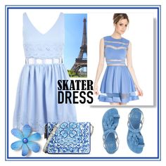 """""""Blue Summer"""" by kleinwillwin ❤ liked on Polyvore"""