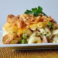 Easy Tuna Casserole - Watch out, y'all: This may become your new comfort food.