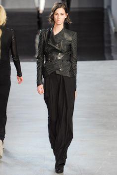 obi jacket, Helmut Lang Fall 2012 RTW