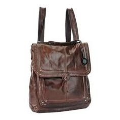 Convertible option here might let me attach to the handlebars easily... Women's THE SAK Ventura Convertible Backpack Teak