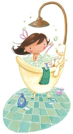 (Erica Jane Waters il.lustració). Once a week for 20 minutes, sit in a hot bath that contains a handful of Epsom salts, 10 drops of lavender essential oil, and a half cup of baking soda. This combo draws out toxins, lowers stress-related hormones, and balances your pH levels. ~ Dr. Mark Hyman, M.D.