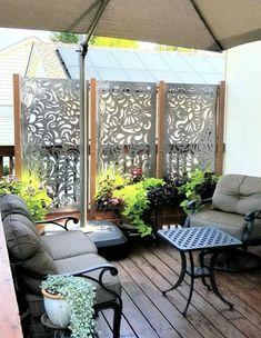 Diy outdoor privacy screen ideas 00017 ~ Home Decoration Inspiration Pergola Shade, Pergola Patio, Backyard Patio, Pergola Kits, Pergola Ideas, Decking Ideas, Cheap Pergola, Patio Ideas, Backyard Landscaping