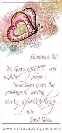 ~ Spreading the Good News ~ Ephesians 3:1 ~