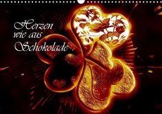 Herzen wie aus Schokolade - CALVENDO Kalender von Dusanka Djeric - #herzen #heart #kalender