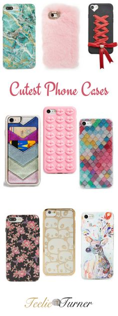 The Cutest Phone Cases to Have: www.teelieturner.com #phoneaccessories
