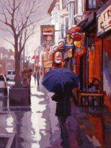 "A Walk in the Rain""<Sarah Kidner"