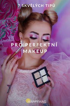 Chcete mít obdivovaný perfektní makeup? Následujte naše rady a bude se vám dostávat samých komplimentů! Víte třeba jak na skvělé obočí? #perfektnimakeup #makeup #beauty