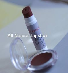 How to make your own natural lipstick