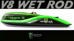 V8 Wet Rod by Strand Craft.... The coolest PWC with 5.7L Chevy V8 producing 300HP giving it a top speed of 105kph