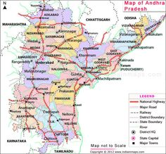 Andhra Pradesh District Map. Political Map of Andhra Pradesh, India. Find district map of Andhra Pradesh. Andhra Pradesh Map highlights all the districts of Andhra Pradesh with their respective names, locations and boundaries.