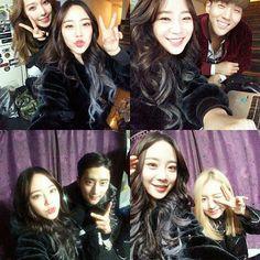 BM, Jiwoo, Somin and J.Seph   K.A.R.D