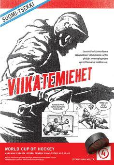 Illustrations by Mikko Juhola, via Behance #icehockey #jaromir #jagr