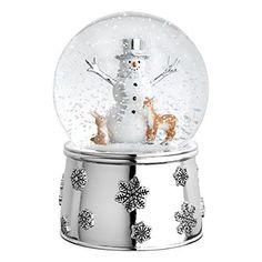 Mr. Snowman And Friends Snow Globe Nutcracker #ReedBarton