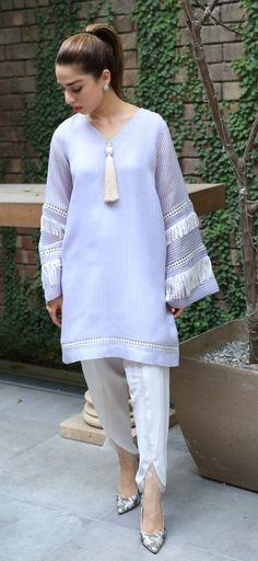 Eid Look Book feat. Pakistani Dresses Casual, Pakistani Dress Design, Casual Summer Dresses, Stylish Dresses, Pakistani Fashion Casual, Fashion Outfits, Fashion Fashion, Party Fashion, Fashion Shoes