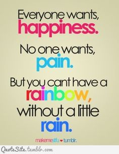 everybody needs a little rain