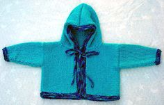 Free+Knitting+Pattern+-+Baby+Sweaters:+Baby+Hooded+Cardigan+Sweater