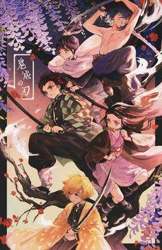 Kimetsu no Yaiba (Demon Slayer) Image - Zerochan Anime Image Board Manga Anime, Fanarts Anime, Anime Demon, Otaku Anime, Anime Art, Wallpaper Fofos, Cute Anime Wallpaper, Image Manga, Dragon Slayer