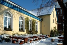 #Geschenke zu #Weihnachten aus dem #Spreewald  Winter im Spreewald www.hotel-stern-werben.de