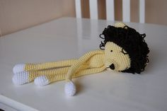 Bad Monkey: Long-legged Lion- Free pattern