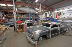 Cool Metal Shops | Before and After Metal Fab at Blue Collar Customs - Hot Rod Magazine ...
