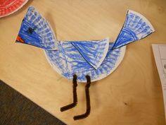 Paper Plate Bird Art Project
