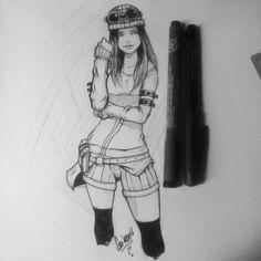 girl sketch 25/04/16