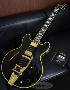 Gibson Custom Shop Historic Collection 50s ES-355 w/Bigsby V.O.S Ebony 【SN. B 97004 / Weight≒4.1kg】