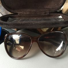 Tom Ford Milan Cat Eye Authentic Glasses Tom Ford Milan Cat Eye Glasses Brown color 290.00 great condition Tom Ford Accessories Glasses