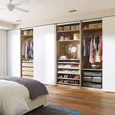 Resultado de imagem para armários embutidos quarto