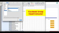 Facebook Group Member Extractor
