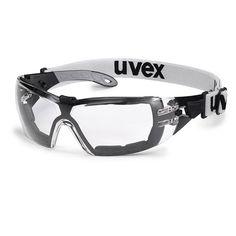 Schutzbrille SV extrem farblos grau bei Kokott.com