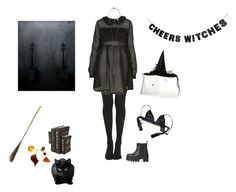 """you should be scared of me"" by allisontrbl ❤ liked on Polyvore featuring art"