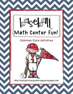 Baseball Math Centers- A Common Core Pack
