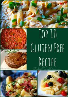 Top 10 Gluten Free Recipe Roundup  - All these recipes have been tested and approved by thousands of home cooks :) Enjoy! #recipes #glutenfree #budgetsavvydiva via BudgetSavvyDiva.com
