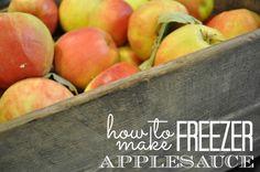 freezer applesauce