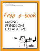 Get your free copy of Making Friends One Day at a Time student pages!