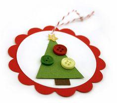 idea for christmas tag