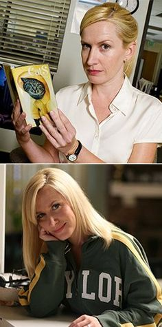 With #TheOffice finale tonight, we say goodbye to Angela Martin -- played for 9 years by #Baylor alum @Angie Kinsey, class of 1993. #sicem (click to read more about her time at BU)
