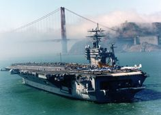 CVN 70, I'm about to embark on an adventure on this