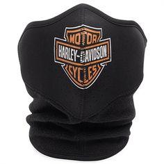 Harley-Davidson Logo Fleece/ Neoprene Face Mask