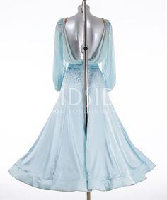 384877 Pale Turquoise Ballroom Dress | Ballroom dresses for sale | Dance dresses for sale | Ladies | DSI London
