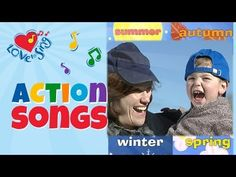 Seasons Song with Lyrics | Children Love to Sing and Dance Kids Songs - YouTube