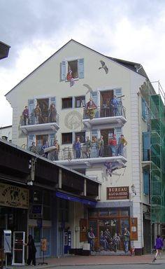 Chamonix-Mont-Blanc -- La fresque 2 - Chamonix-Mont-Blanc — Wikipédia