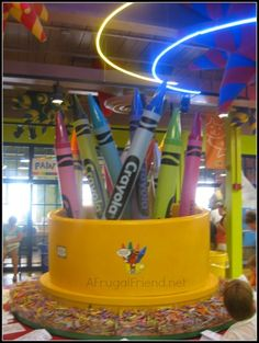 The Crayola Experience aka Crayola Factory (check out all the fun we had)
