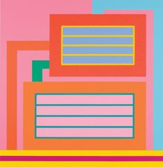 Peter Halley. (b. Sep 24, 1953) Halley first came to prominence as a result of the geometric paintings rendered in intense day-glo colours that he produced in the early 1980s. His practice as an artist is usually associated with minimalism, neo-geo, and neo-conceptualism. Halley is also known as a writer, publisher and teacher.